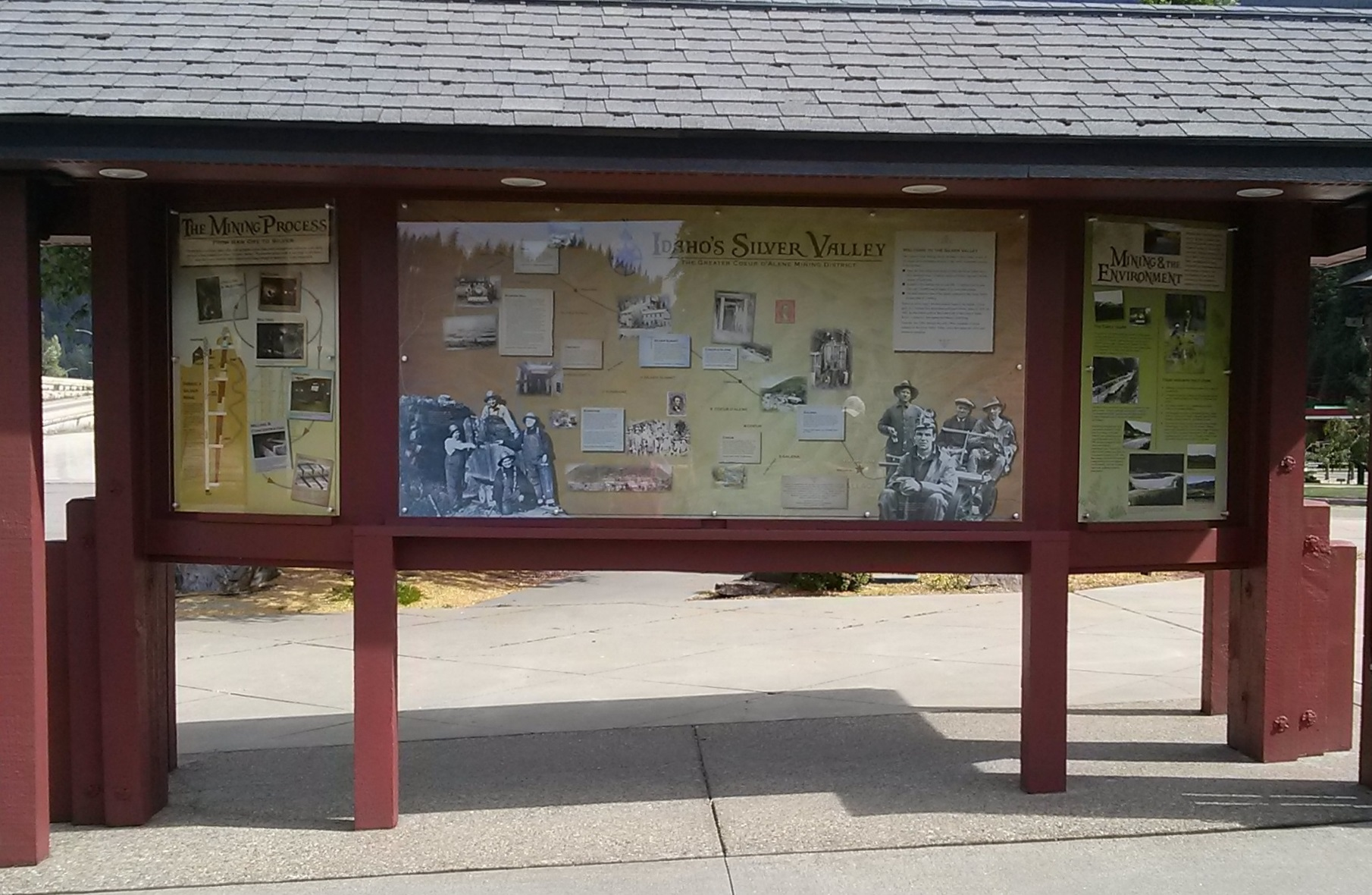 Wallace Visitor Center Kiosk